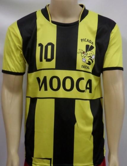 14fc3d79a21a4 Camisas Futebol Brasil Personalizada Parque São Lucas - Camisa e Calção de  Futebol Personalizado